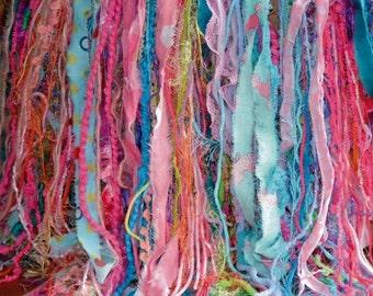 Newborn Girl FRiNGE PRoP Baby Photo Prop Layer LoNG SHaG FRiNGE PRoP Yarn Fabric Fringe BaCKDRoP Pink Aqua Lilac Lime BaCK DRoP Choose Color