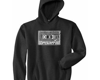 Men's Hooded Sweatshirt - The 80's