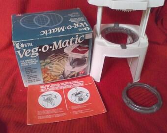 Veg-O-Matic, Food chopper,.Home canning, food processer,Grater, shredder, slicer, K-Tel