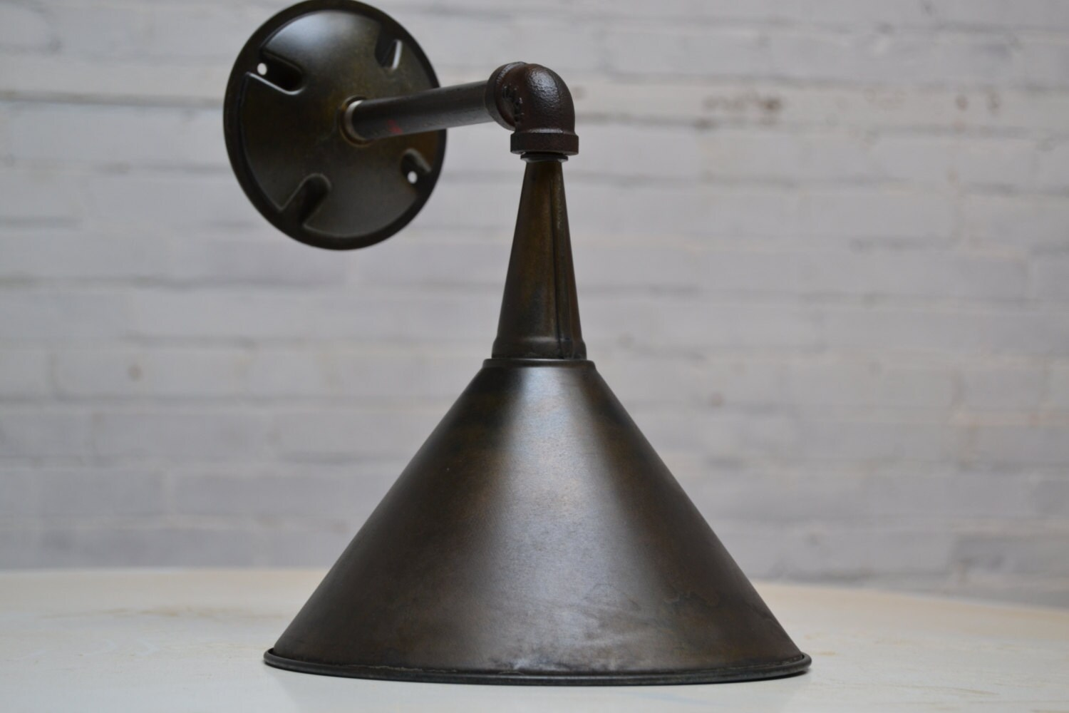 Exterior wall sconce industrial light fixture metal zoom arubaitofo Gallery