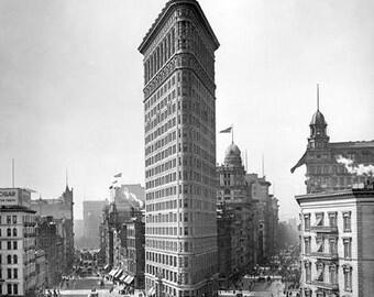 Flatiron Building 1900's Photo