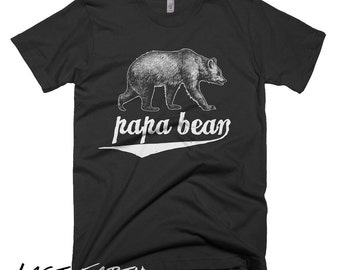 Ashley on etsy papa bear t shirt mens grizzly bear t shirt fathers day gifts for dad husbands t publicscrutiny Gallery