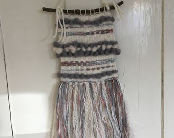 Hand made woven wall hanging for home decoration