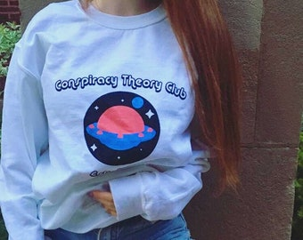 Conspiracy Theory Club Crewneck Jumper