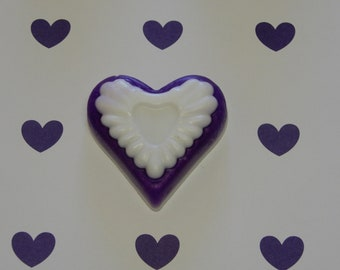 Heart Soap - Lavender  1.5oz