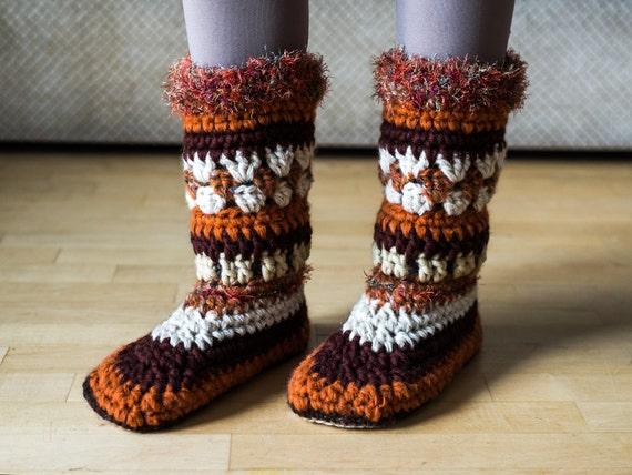Pdf Pattern Women Slipper Boots Women Moccasin Pattern Mukluk