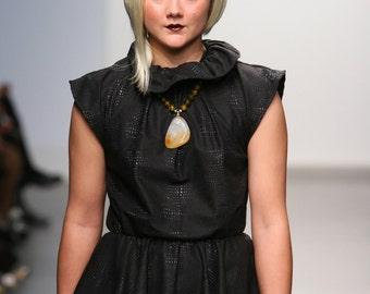Sun Goddess Agate Necklace- Shown in New York fashion week