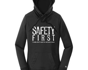 Science Teacher Gifts Science Shirts Women Hoodies Safety First Lab Safety Funny Science TShirts Hoodies with Sayings Science Hoodies Gifts