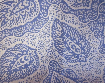 New!!Souleiado French Provincial lawn fabric made in Japan orient blue 110x100cm