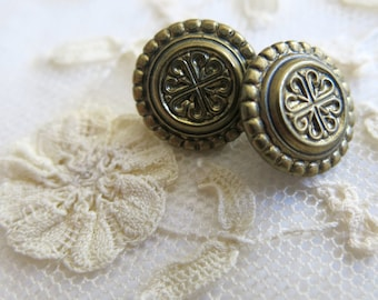 Small metal buttons for costumes and celtic fashion