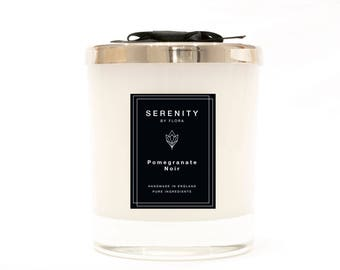 Pomegranate Noir Handmade Luxury Soy Candle 220g