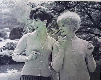 LAVENDA  B 988 Vintage Ladies Knitting Pattern