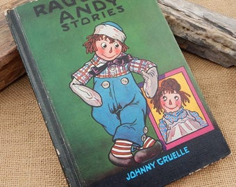 Raggedy Andy Stories  by Johnny Gruelle  Copyright 1960