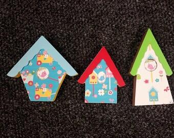 Birdhouse Trio Crafts