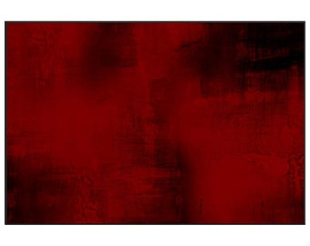 Abstract red area rug,  red wine floor covering, winter themed decorating for warm living interiors