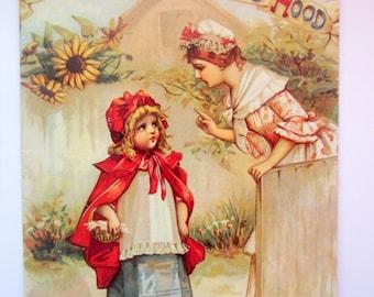 Little Red Riding Hood Vintage Paperback Book