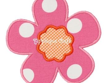 304 Flower 2 Machine Embroidery Applique Design
