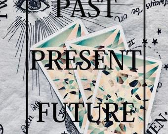 Tarot Reading - PAST PRESENT FUTURE