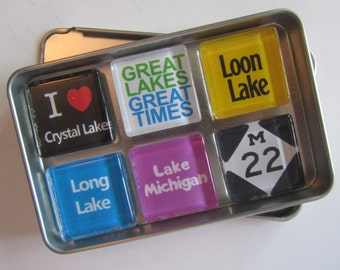 CRYSTAL LAKE, Frankfort, Beulah, Point Betsie, Platte River, M22, Up North Michigan, Michigan, Michigan Magnets, Northwest Michigan