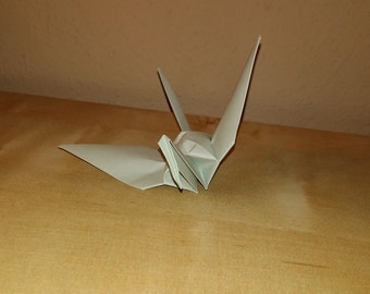 Origami crane, wedding crane, wedding decor origami crane, gray crane, origami crane, decoration crane, Set of 1000 crane