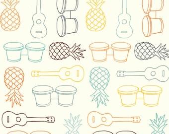 Summer '62 - Beach Fare Multi by Jay-Cyn Designs from Birch Organic Fabric