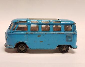 Vintage,   1970's  Road Master IMPY Super Cars VW Volkswagen 23 window Bus  Van   - Lone Star.  Made in England - 1:59 scale