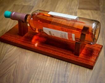 Wine Stand, Handmade, Exotic Woods