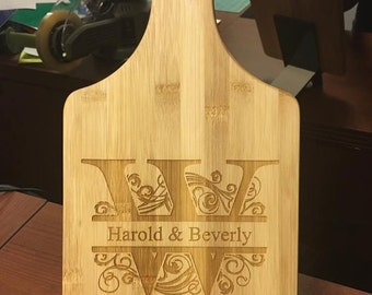 """Personalized Cutting boards 7"""" x 13.5"""""""
