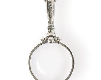 Magnifying Glass with Handle Pendant (STEAM145)