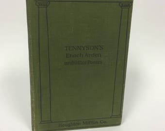1895 Tennyson's Enoch Arden and Other Poems