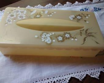 Vintage tissue box cover