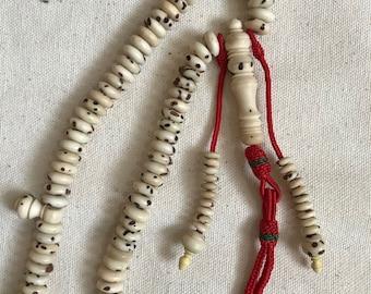 Oud Salib/Bodhi Seed Tasbih/Misbaha/Rosary/Prayer Beads set from Morocco