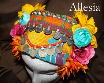 ATS Tribal Fusion Belly Dance Headpiece, Allesia