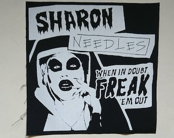 Sharon Needles Back Patch