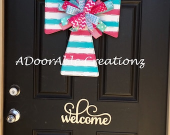 Spring Cross Door Hanger, Cross Door Hanger, Easter Cross Door Hanger