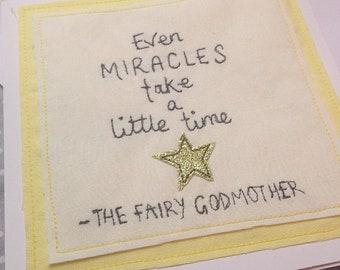IVF miracle baby card