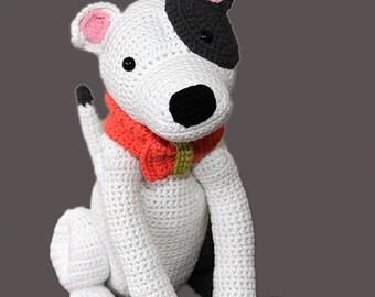 Haakpatroon voor Staffordshire Bull Terrier, American Staffordshire Terrier, Pitbull Terrier