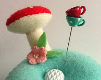 Stack of Tea Cups Pin Topper