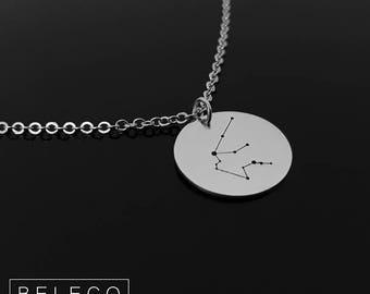 Constellation Necklace, Constellation Jewelry, Horoscope Necklace, Horoscope Jewelry, Zodiac Necklace, Zodiac Jewelry, Zodiac Sign Necklace