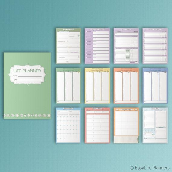 Binder Printable Planner Pages Free Printable Top Tab Dividers For