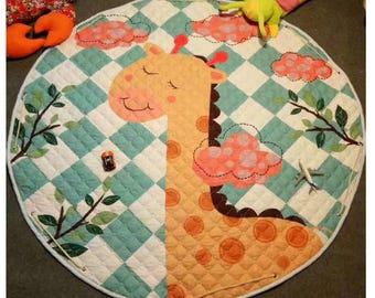 Baby Play Mat & Toy Storage in One