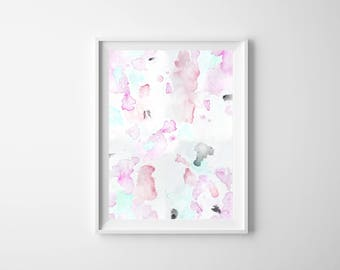 Abstract Watercolor Illustration