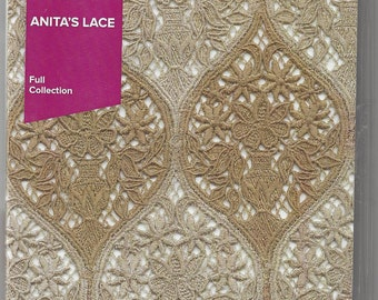 Anita Goodesign, Full Collection, Machine Embroidery Designs, Anita's Lace, In the Hoop, Lace