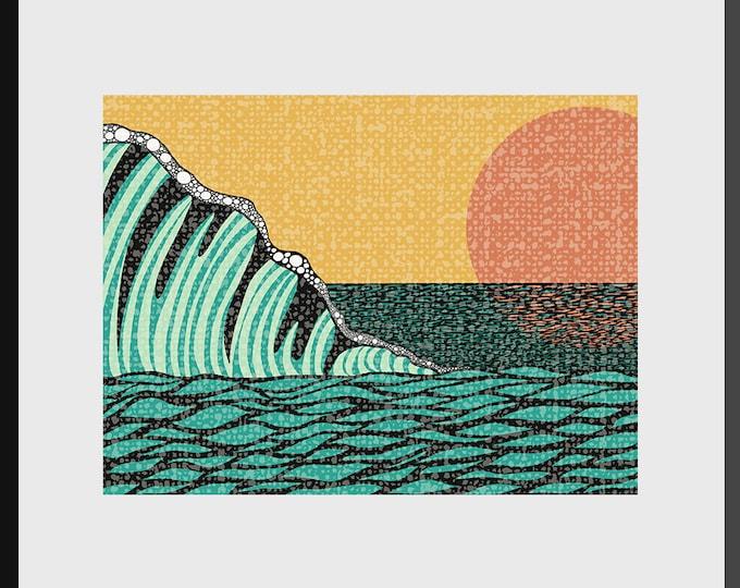 Sunrise V Print