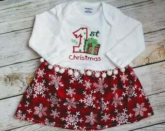 My First Christmas Dress