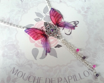 Beautiful Y Butterfly Necklace (2)