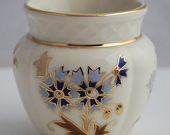 ZSOLNAY PECS Hungary Superb VASE Floral Decoration
