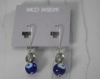Surgical Steel Evil Eye Earrings