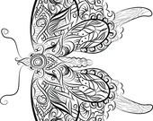 Butterfly  Instant downlo...