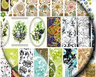 71 images pour Mahjong et Domino, Big Bamboo petit carreaux Potpourri Designs - feuille de Collage numérique - Buy 3 Get 1 Extra Free